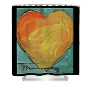 Love Is Just A Word Shower Curtain