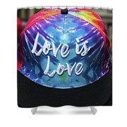 Love Is Love Shower Curtain
