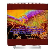 Love Is The Music Shower Curtain