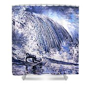 Love Is The Seventh Wave Shower Curtain