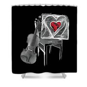 Love Melody Shower Curtain