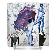 Love Metaphor - Drift Shower Curtain
