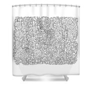 Love New York Full Page Shower Curtain