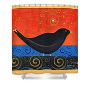 Love Of Birds Shower Curtain