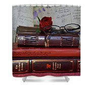 Love Of Books Shower Curtain