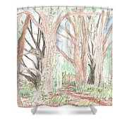 Love Of Nature Shower Curtain