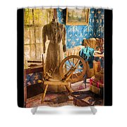Love Of Sewing Poster Shower Curtain