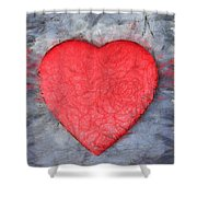 Love Pencil Shower Curtain