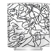Love Potion Shower Curtain