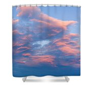 Love Shack Sunset Shower Curtain