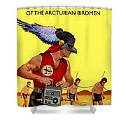 Love Slaves Of The Arcturian Birdmen Shower Curtain