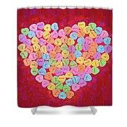 Love Songs 3 Shower Curtain