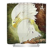 Love Story 4 Shower Curtain