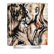 Love Story Shower Curtain