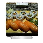 Love Sushi Shower Curtain