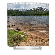 Love The Colorado Rocky Mountains Shower Curtain