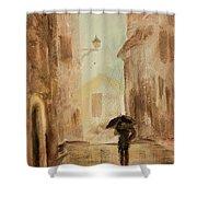 Love The Rain Shower Curtain