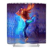 Love To Dance Shower Curtain