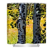Love Trees Shower Curtain