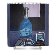 Tamed Love Shower Curtain
