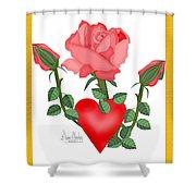 Love Will Grow Shower Curtain