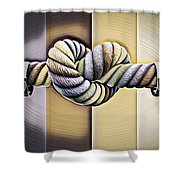 Love Wins/varney Shower Curtain