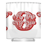 Love You Part 1 Shower Curtain
