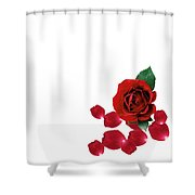 Love You Part 3 Shower Curtain