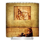 Love Your Neighbor As Yourself Shower Curtain