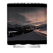 Loveland Pass Summit Shower Curtain