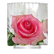 Loveliness Shower Curtain