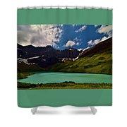 Lovely Cracker Lake Shower Curtain