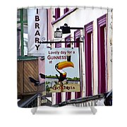 Lovely Day For A Guinness Macroom Ireland Shower Curtain
