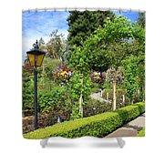 Lovely Day In The Garden Shower Curtain by Carol Groenen