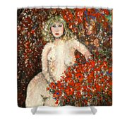 Lovely Flora Shower Curtain