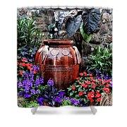 Lovely Garden  Shower Curtain