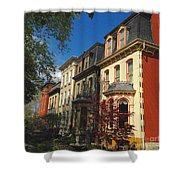 Lovely Ladies In Lafayette Square Shower Curtain