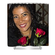 Lovely Lady 42 Shower Curtain