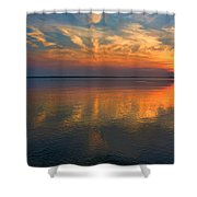 Lovely Lakeside View Shower Curtain