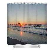 Lovely Morning In Avalon Shower Curtain