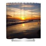 Lovely Sunset Shower Curtain