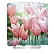 Lovely Tulips Shower Curtain