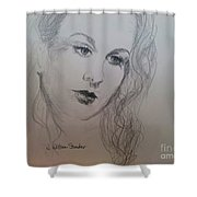 Lovely Vivien Shower Curtain