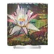 Lovely Waterlilies 2 Shower Curtain