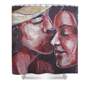Lovers - Amore Shower Curtain