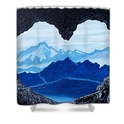 Lovers Cave Shower Curtain