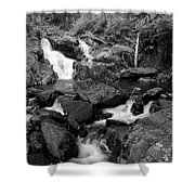 Lover's Lane Loop Four Shower Curtain