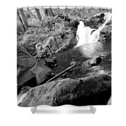 Lover's Lane Loop Six Shower Curtain