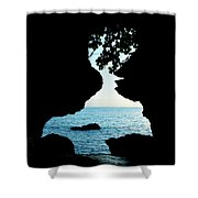 Lovers Rock Shower Curtain