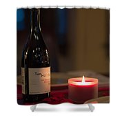 Love's Flame Burns Bright Shower Curtain by Mike Hendren